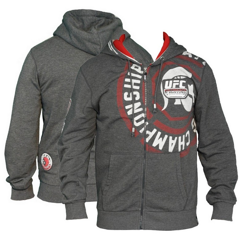 Akcija -50 %: UFC Hoody FIGHT TEAM