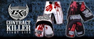 Contract Killer hlače, majice T-shirt, oprema za MMA