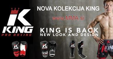King Pro Boxing rokavice za tajski boks, oprema, hlače za Muay Thai, MMA