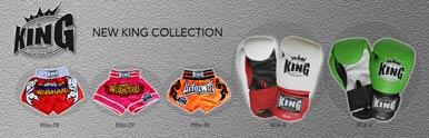 King Professional rokavice za tajski boks, oprema, hlače za Muay Thai, MMA